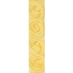 Kaisercraft - Ribbon - Roses - Lemon
