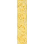 Kaisercraft - Ribbon - Roses - Lemon