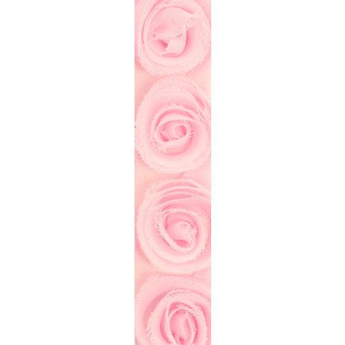 Kaisercraft - Ribbon - Roses - Fairy Floss