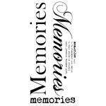 Kaisercraft - Rub Ons - Word - Memories
