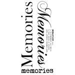 Kaisercraft - Rub Ons - Word - Memories
