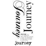 Kaisercraft - Rub Ons - Word - Journey