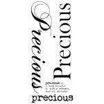 Kaisercraft - Rub Ons - Word - Precious