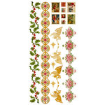 Kaisercraft - December 25th Collection - Christmas - Rub Ons - Color