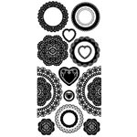 Kaisercraft - Timeless Collection - Rub Ons - Doilies