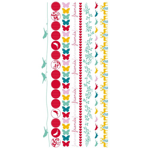 Kaisercraft - Hummingbird Collection - Rub Ons