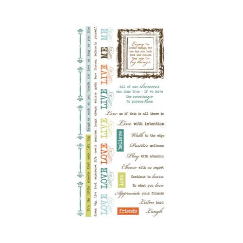 Kaisercraft - Marigold Collection - Rub Ons