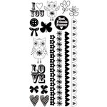 Kaisercraft - Suga Pop Collection - Rub Ons