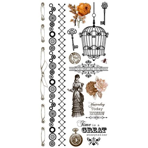 Kaisercraft - Miss Empire Collection - Rub Ons