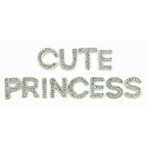 Kaisercraft - Sparklets - Words - Princess and Cute