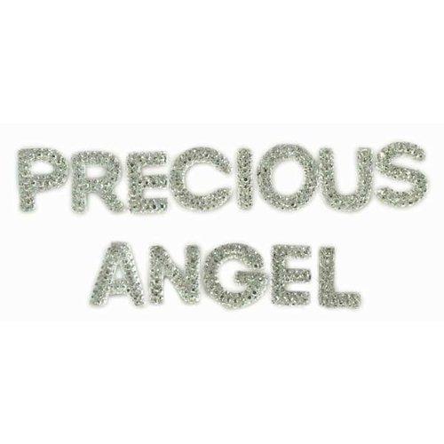 Kaisercraft - Sparklets - Words - Precious and Angel