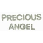 Kaisercraft - Sparklets - Words - Precious and Angel