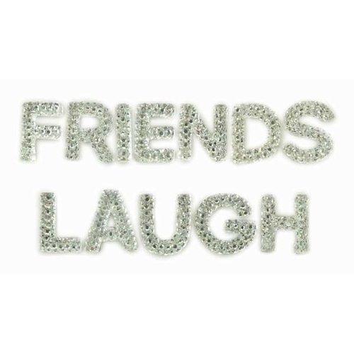 Kaisercraft - Sparklets - Words - Friends and Laugh