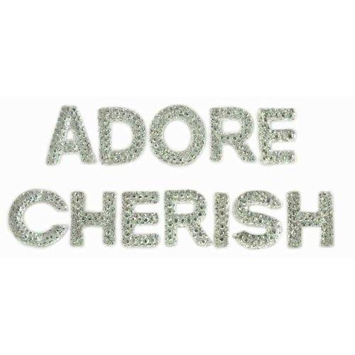 Kaisercraft - Sparklets - Words - Cherish and Adore