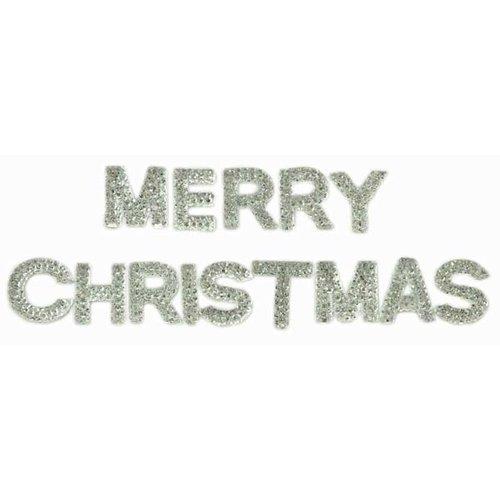 Kaisercraft - Sparklets - Words - Merry Christmas