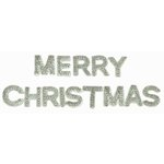 Kaisercraft - Sparklets - Words - Merry Christmas