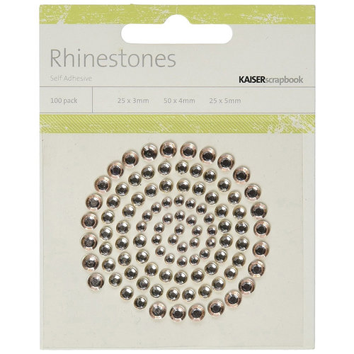 Kaisercraft - Rhinestones - Champagne