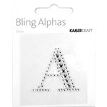 Kaisercraft - Bling Alphas Collection - Self Adhesive Monogram - Letter A