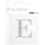 Kaisercraft - Bling Alphas Collection - Self Adhesive Monogram - Letter E