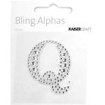 Kaisercraft - Bling Alphas Collection - Self Adhesive Monogram - Letter Q