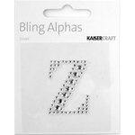 Kaisercraft - Bling Alphas Collection - Self Adhesive Monogram - Letter Z