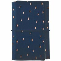 Kaisercraft - Kaiserstyle - Planner - Small - Navy with Foil Accents - Undated