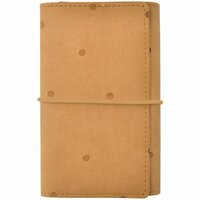 Kaisercraft - Kaiserstyle - Planner - Small - Tan with Embossed Accents - Undated