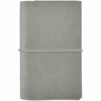 Kaisercraft - Kaiserstyle - Planner - Small - Grey with Stitched Accents - Undated
