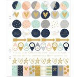 Kaisercraft - Kaiserstyle - Planner - Cardstock Stickers with Foil Accents