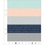 Kaisercraft - Kaiserstyle - Planner - Cardstock Stickers - Words