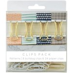 Kaisercraft - Kaiserstyle - Planner - Clips Pack - Patterns