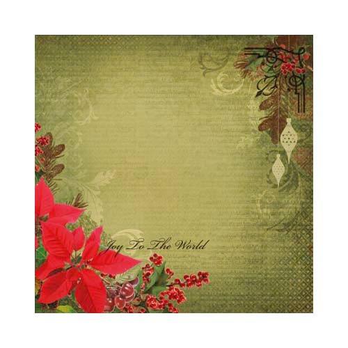 Kaisercraft - Turtle Dove Collection - Christmas - 12 x 12 Scrapbook Album