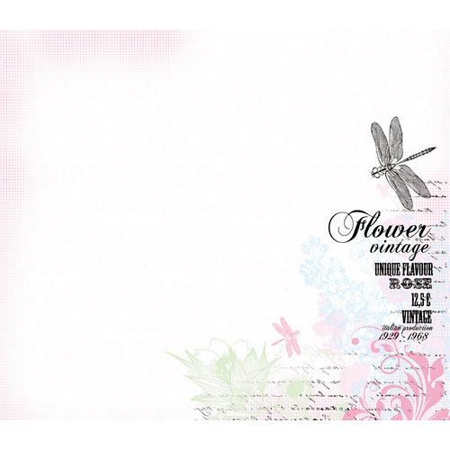Kaisercraft - Lavender Haze Collection - 12 x 12 D-Ring Album