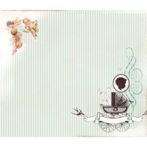 Kaisercraft - Bundle of Joy Collection - 12 x 12 D-Ring Album - Boy