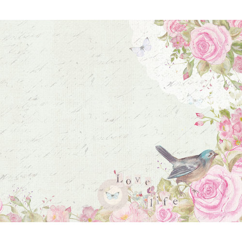 Kaisercraft - True Romance Collection - 12 x 12 D-Ring Album