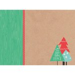 Kaisercraft - Holly Jolly Collection - Christmas - 12 x 12 D-Ring Album