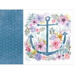 Kaisercraft - Mermaid Tails Collection - 12 x 12 D-Ring Album - Sea Garden
