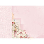 Kaisercraft - Peek-A-Boo Collection - 12 x 12 D-Ring Album - Girl