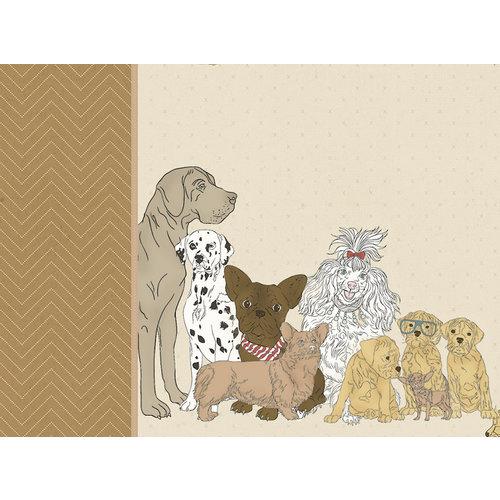 Kaisercraft - Pawfect Collection - 12 x 12 D-Ring Album - Dog