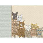 Kaisercraft - Pawfect Collection - 12 x 12 D-Ring Album - Cat