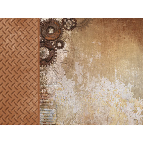 Kaisercraft - Factory 42 Collection - 12 x 12 D-Ring Album