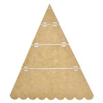 Kaisercraft - Beyond the Page Collection - Christmas - Scallop Hanging Tree