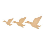 Kasiercraft - Beyond the Page Collection - Wood Pieces - Flying Ducks