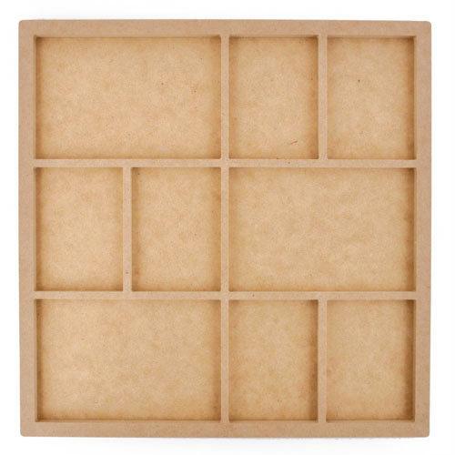 Kaisercraft - Beyond the Page Collection - Nine Frame Photo Display