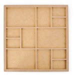 Kaisercraft - Beyond the Page Collection - Twelve Frame Photo Display
