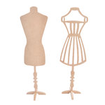 Kaisercraft - Beyond the Page Collection - Dress Form - 2 Pack