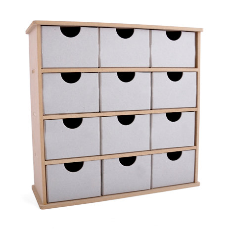 Attirant Kaisercraft   Beyond The Page Collection   Christmas   12 Drawer Storage Box