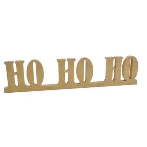 Kaisercraft - Beyond the Page Collection - Ho Ho Ho Standing Words