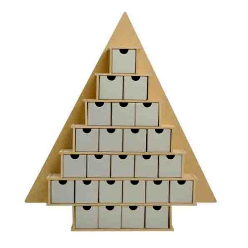 Kaisercraft - Beyond the Page Collection - Large Tree Advent Calendar