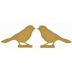 Kaisercraft - Beyond the Page Collection - Standing Birds - Small - 2 Pack